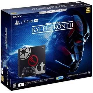 PlayStation 4 Pro (プレイステーション4 プロ) Star Wars Battlefront II Limited Edition [ゲーム機本体]CUHJ-10019