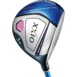 レディース フェアウェイウッド XXIO X(ゼクシオ テン) ブルー #3《ゼクシオ MP1000L カーボンシャフト》A