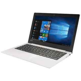 Ideapad (アイデアパッド )120S ノートパソコン ブリザードホワイト 81A4002BJP [11.6型 /intel Celeron /SSD:128GB /メモリ:4GB /2017年10月モデル]