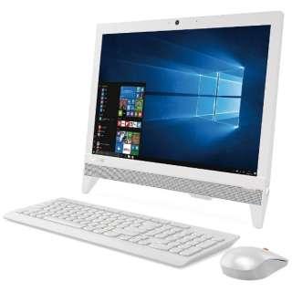 F0CL007KJP デスクトップパソコン ideacentre AIO310 ホワイト [19.5型 /HDD:500GB /メモリ:4GB /2017年秋]