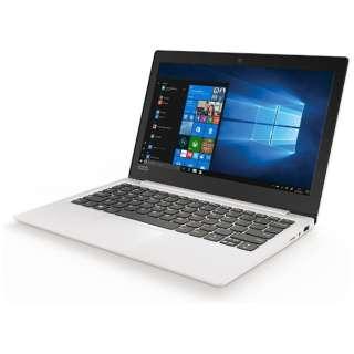 81A400C9JP ノートパソコン Ideapad (アイデアパッド )120S ブリザードホワイト [11.6型 /intel Celeron /SSD:128GB /メモリ:4GB /2017年10月モデル]