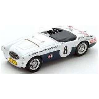 1/43 Austin Healey 100S No.8 Carrera Panamericana 1954 C. Shelby-R. Jackson-Moore