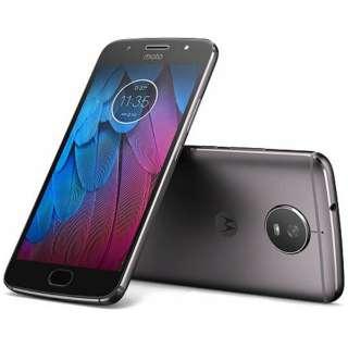 Moto G5sルナグレー「PA7Y0009JP」  Snapdragon 430 5.2型・メモリ/ストレージ:3GB/32GB nanoSIMx2 ドコモSIM対応 SIMフリースマートフォン