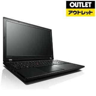【アウトレット品】 15.6型ノートPC[ Win7 Pro・Celeron・HDD 500GB・メモリ 2GB・Microsoft Office Personal ] ThinkPad(シンクパッド) L540 20AV008RJPブラック 【生産完了品】