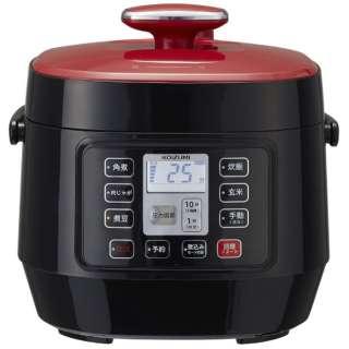 電気圧力鍋 レッド KSC-3501/R