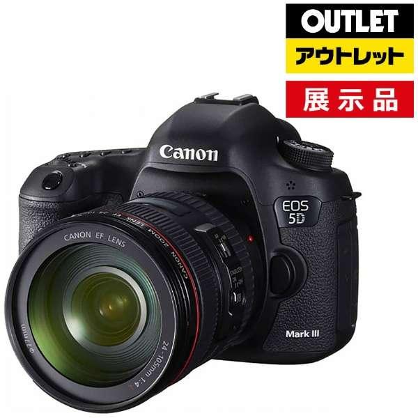 【アウトレット品】 デジタル一眼レフカメラ  EOS 5D Mark III【EF24-105L IS U レンズキット】 【展示品】