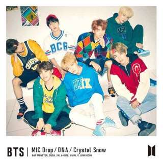 BTS(防弾少年団)/MIC Drop/DNA/Crystal Snow 初回限定盤C 【CD】