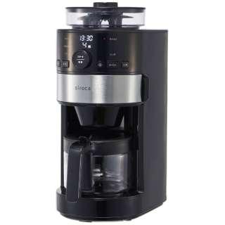 SC-C111 コーヒーメーカー siroca [全自動 /ミル付き]