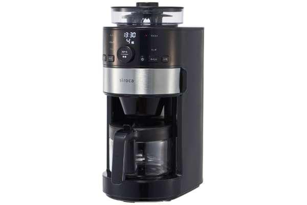 全自動コーヒーメーカーのおすすめ シロカ SC-C111
