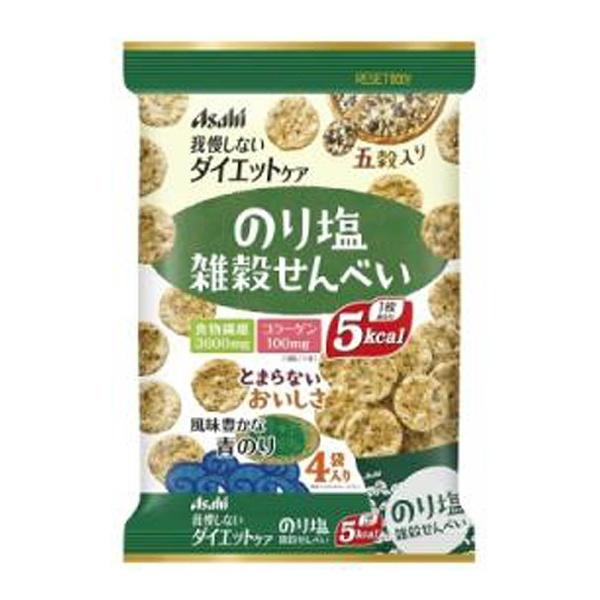 リセットボディ 雑穀せんべい のり塩 88g(22g×4袋)