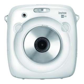 ハイブリッドインスタントカメラ 『チェキ』 instax SQUARE SQ10(ホワイト)