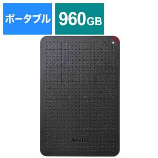 SSD-PL960U3-BK 外付けSSD SSD-PLU3シリーズ [960GB /ポータブル型]