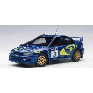 1/18 スバル インプレッサ WRC 1997 #3(コリン・マクレー/ニッキー・グリスト)※サファリラリー優勝
