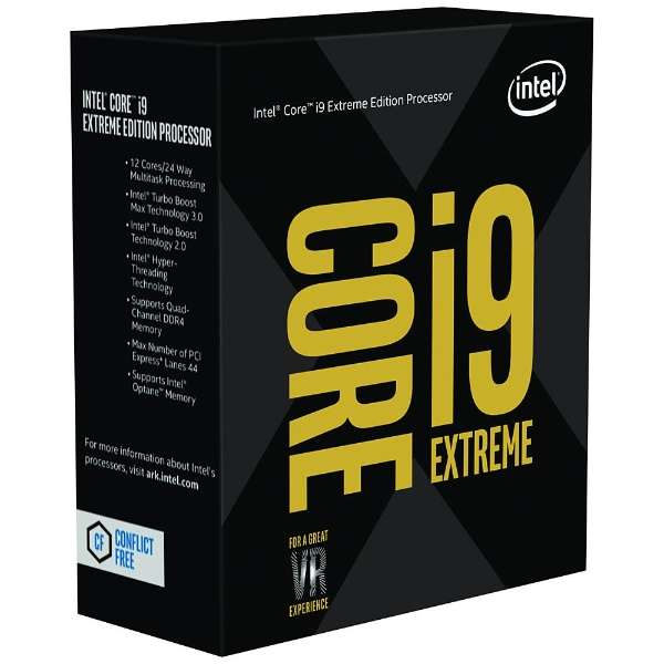 Core i9-7980XE BOX品[CPU]