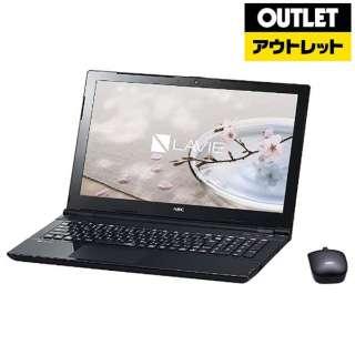 【アウトレット品】 15.6型ノートPC[Win10 Home・Celeron ・HDD 1TB・メモリ 4GB・Office Home & Business] LAVIE Note Standard PC-NS150GABスターリーブラック 【生産完了品】