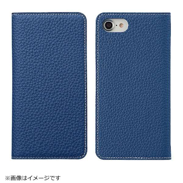 wholesale dealer 9bfa9 7e6c3 ビックカメラ.com - iPhone 8用 手帳型レザーケース BONAVENTURA German Togo leather diary case  ブルー BOTD8-BL-RT