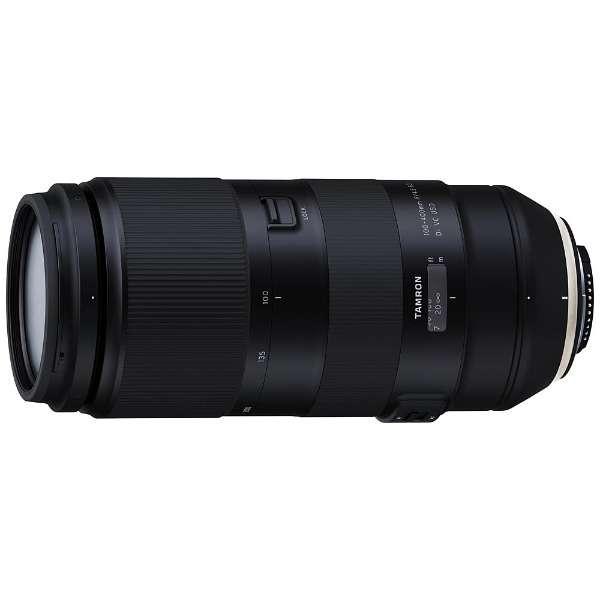 カメラレンズ 100-400mm F/4.5-6.3 Di VC USD ブラック A035 [ニコンF /ズームレンズ]