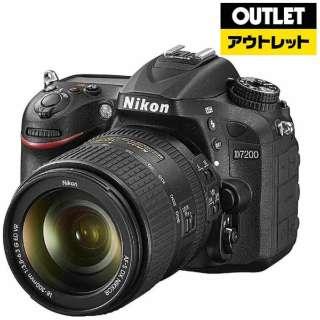 【アウトレット品】 デジタル一眼レフカメラ  D7200[ズームレンズキット] 【展示品】