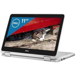 MI01C-7WHBW ノートパソコン Inspiron 11 3179 2-in-1 ホワイト [11.6型 /intel Pentium /SSD:128GB /メモリ:4GB /2017年秋冬モデル]