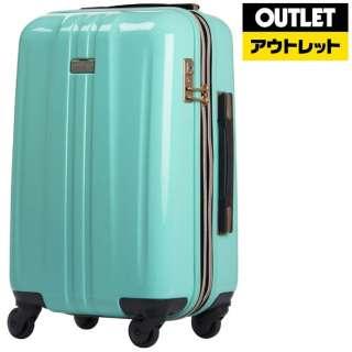 【アウトレット品】 スーツケース ファスナー H037ミントグリーン 6701-48-MGR 32(37)L 【外装不良品】