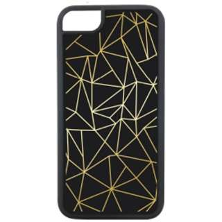 iPhone 8用 Waylly Simplicity Gold Line WL67-SGL 壁に張り付くケース