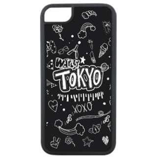 iPhone 8用 Waylly Tokyo Graffiti WL67-TOKYO 壁に張り付くケース