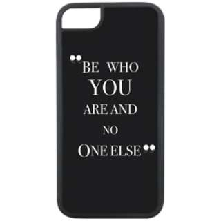 iPhone 8用 Waylly Be Who You Are And No One Else WL67-WHO 壁に張り付くケース