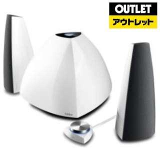 【アウトレット品】 E3350BTS-WH ブルートゥース スピーカー ホワイト [Bluetooth対応] 【生産完了品】
