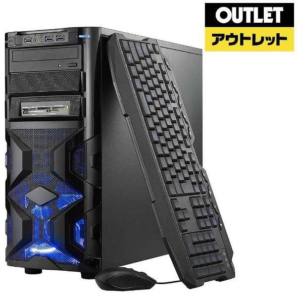 【アウトレット品】 SPR-I74G5W1H17G ゲーミングデスクトップパソコン [モニター無し /HDD:1TB /SSD:120GB /メモリ:8GB] 【生産完了品】