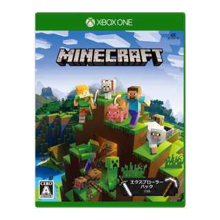Minecraft: エクスプローラー パック【Xbox Oneゲームソフト】