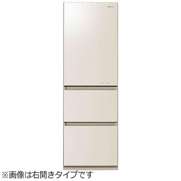 NR-C37HGML-N 冷蔵庫 クリアシャンパン [3ドア /左開きタイプ /365L] 《基本設置料金セット》