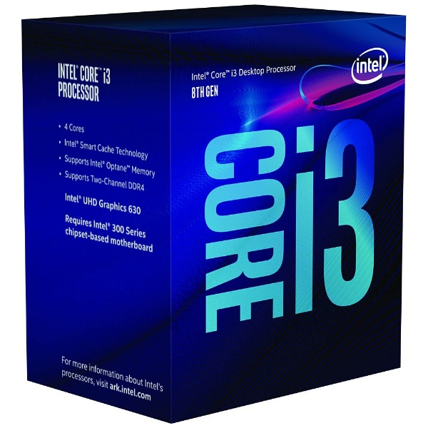 Core i3 8100 BOX