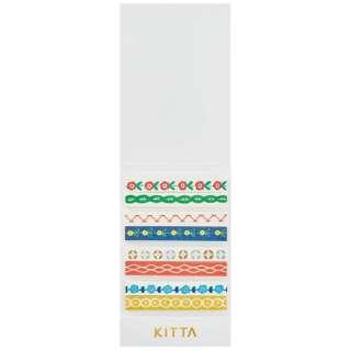 [マスキングテープ]KITTA(キッタ)スリム チロリアン KITS006