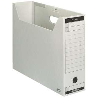 [ファイルボックス]ファイルボックス-FS Bタイプ(B4横、収容幅95mm) B4-LFBN-M グレー