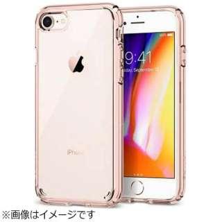 iPhone 8用 Ultra Hybrid 2 ローズクリスタル 042CS20924