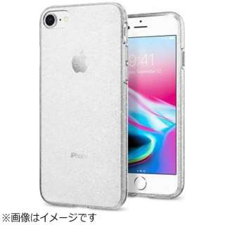 iPhone 8用 Liquid Crystal Glitter クリスタルクオーツ 042CS21760