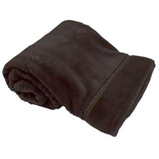 ラフィーナ2枚合わせ毛布(ダブルサイズ/180×200cm/ブラウン)