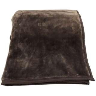 ラフィーナニューマイヤー毛布(ダブルサイズ/180×200cm/ブラウン)