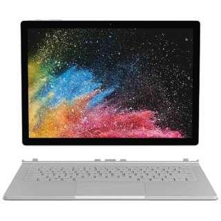 Surface Book 2[12.3型 /SSD:256GB /メモリ:8GB /IntelCore i5/シルバー/2017年11月モデル]HMW-00012 ノートパソコン サーフェスブック2