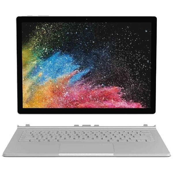 Surface Book 2[13.5型/SSD:1TB /メモリ:16GB/IntelCore i7/シルバー/2017年11月モデル]HNN-00012 ノートパソコン サーフェスブック2