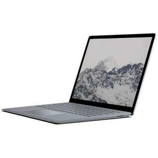 Surface Laptop[13.5型/SSD:256GB /メモリ:8GB /IntelCore i7/プラチナ/2017年11月モデル]DAJ-00018 ノートパソコン サーフェス ラップトップ