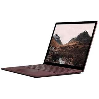 Surface Laptop[13.5型/SSD:256GB /メモリ:8GB /IntelCore i7/バーガンディ /2017年11月モデル]DAJ-00058 ノートパソコン サーフェス ラップトップ