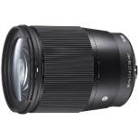 カメラレンズ 16mm F1.4 DC DN Contemporary ブラック [マイクロフォーサーズ /単焦点レンズ]