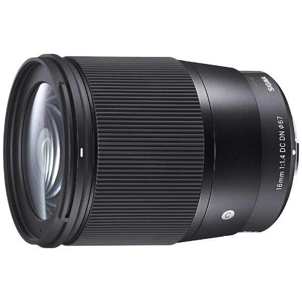 カメラレンズ 16mm F1.4 DC DN APS-C用 Contemporary ブラック [ソニーE /単焦点レンズ]