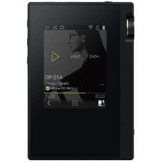 デジタルオーディオプレーヤー rubato ブラック DP-S1A-B [16GB /ハイレゾ対応]