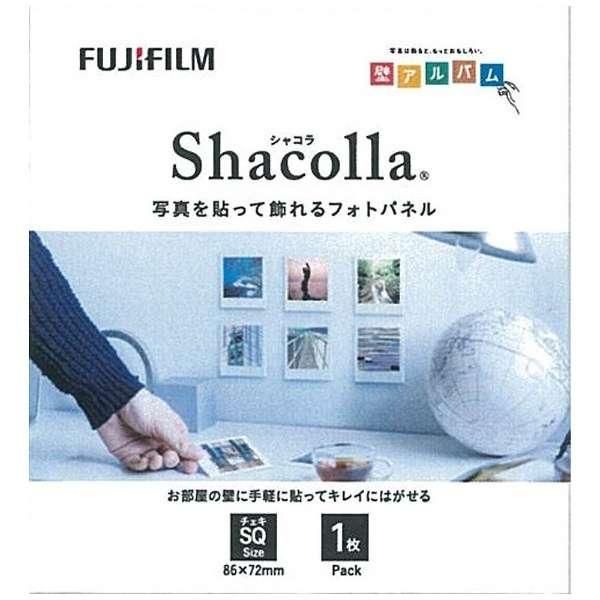 シャコラ(shacolla) 壁タイプ 1枚パック チェキSQサイズ