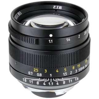 カメラレンズ 50mm F1.1 7Artisans ブラック [ライカM /単焦点レンズ]