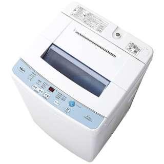 AQW-S60F-W 全自動洗濯機 ホワイト [洗濯6.0kg /乾燥機能無 /上開き]