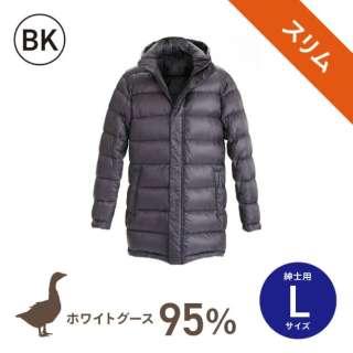 【数量限定】スリムモデル ダウンジャケット(紳士用/Lサイズ/ブラック)