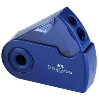 [鉛筆削り] ファーバーカステル 角型 TFC-182797-2 ブルー